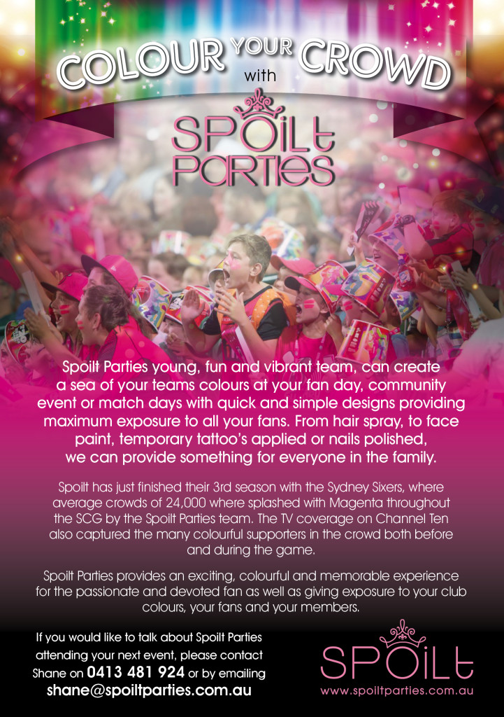 Spoilt Parties A5 Flyer with crowd lowres